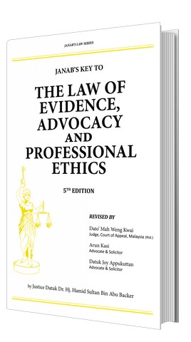 The Law of Evidence, Advocacy and Professional Ethics – 5th Edition